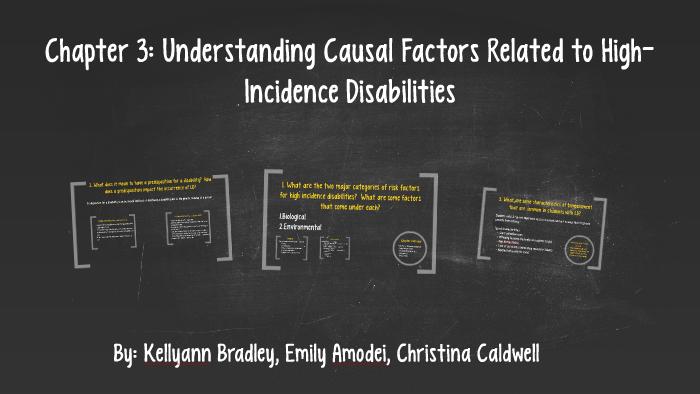 causal factors of ebd