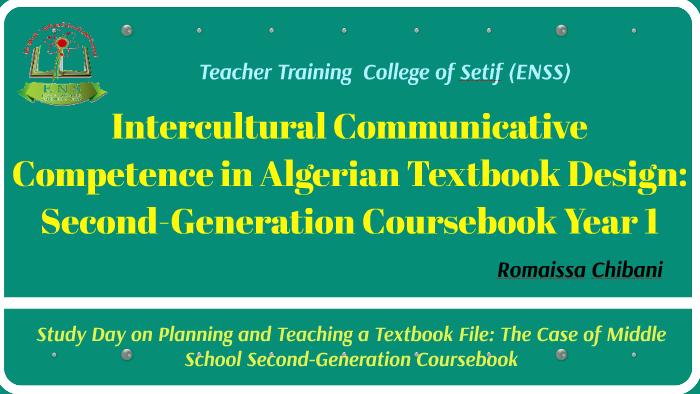 Intercultural Communicative Competence in Algerian Textbook