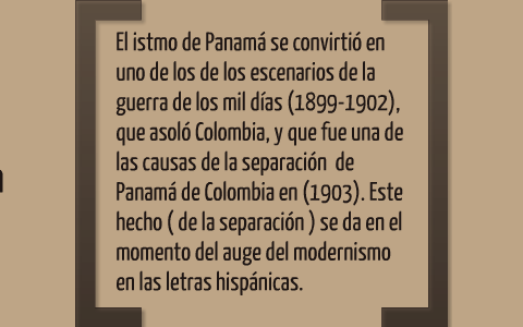 finest selection catch good selling EL MODERNISMO EN PANAMÁ by lisseth beitia on Prezi