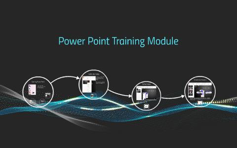 Power Point Traning Module By Erik Shaddeau