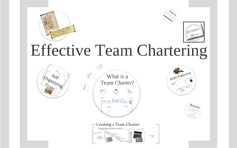 Effective Team Chartering Scrum Gathering Orlando March 2010 By