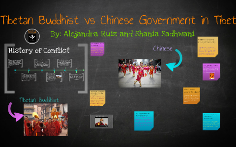 Tibetan Buddhist/ and Chinese Government in Tibet by Shania