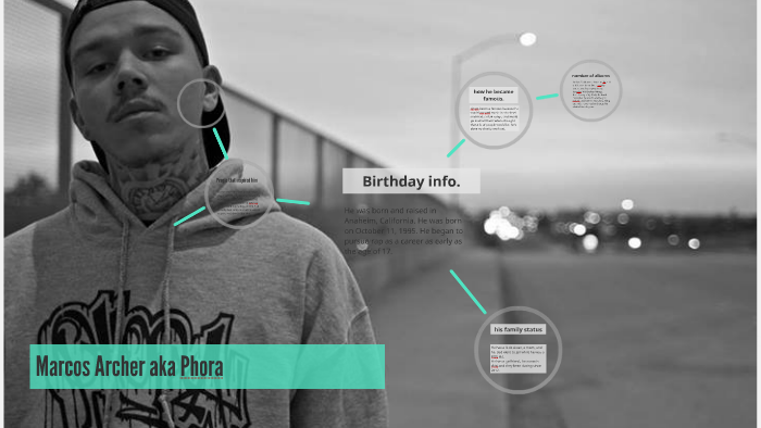 Marcos Archer aka Phora by steven Miravete on Prezi