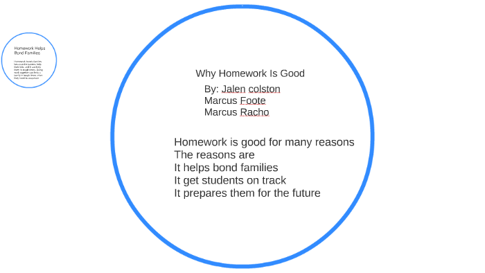 Homework Is Good For Students