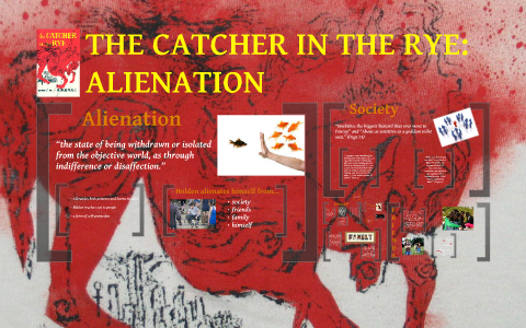 catcher in the rye alienation