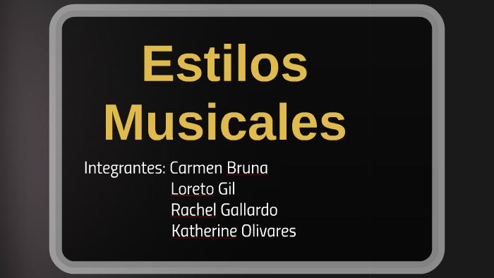 Trabajo De Musica By Katherine Alejandra Olivares Donoso On