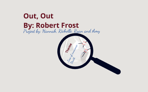 robert frost figurative language