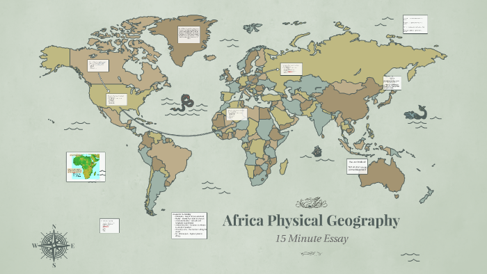 Map Of Africa Physical Geography.Africa Physical Geography By Chad Carlson On Prezi