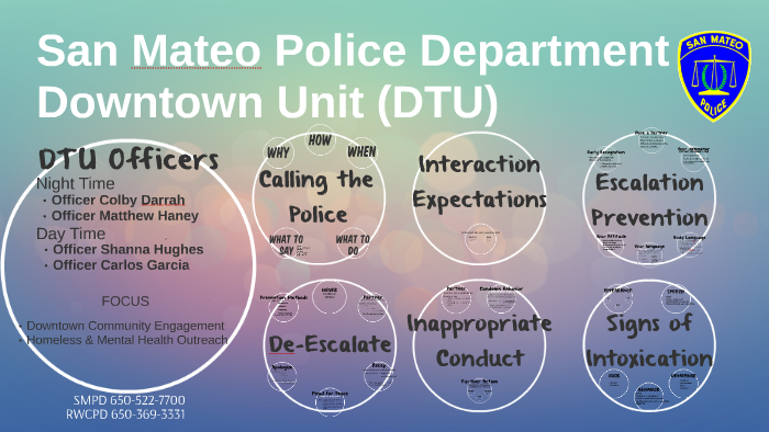 San Mateo Police Department by on Prezi