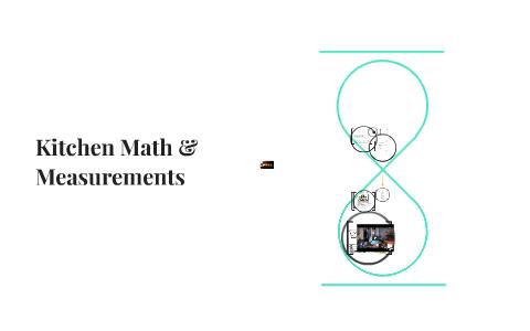 Kitchen Math Measurements By L Depace