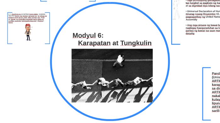 Modyul 6: ESP grade 9: Karapatan at Tungkulin by Dhar