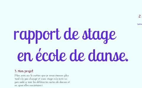 Rapport De Stage By Tamara Merceron On Prezi