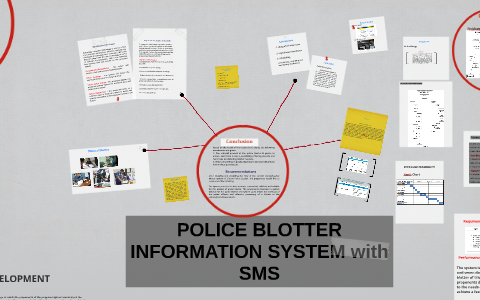 POLICE BLOTTER INFORMATION SYSTEM with SMS by richie leoveras on Prezi