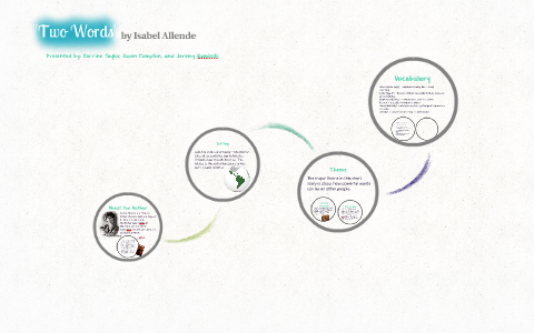 Two Words By Isabel Allende By Jeremy Kaminski On Prezi