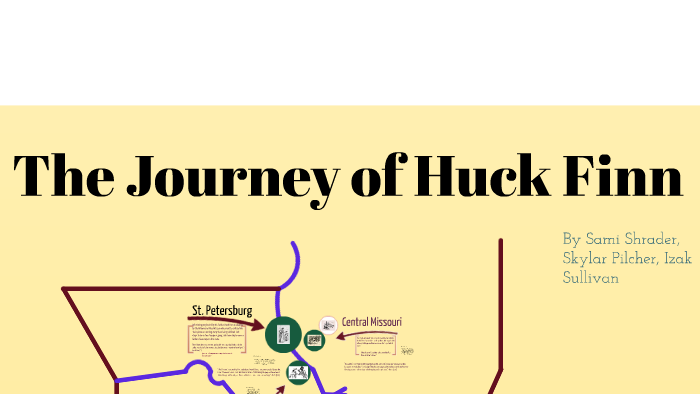 huckleberry finn journey