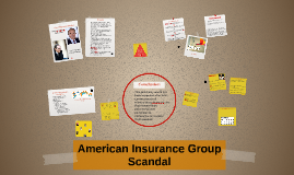 American Insurance Group Scandal By