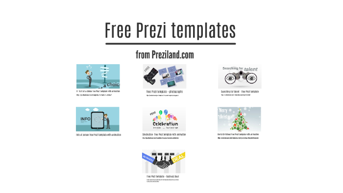 Free Prezi Templates By