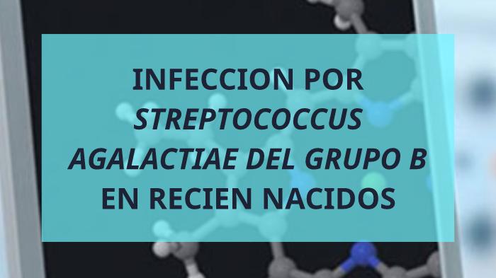 infeccion por streptococcus agalactiae