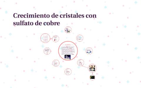 Crecimiento De Cristales Con Sulfato De Cobre By Diana