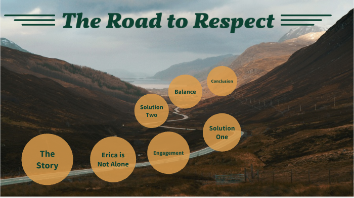 the road to respect