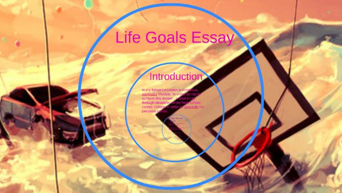 future goals essay