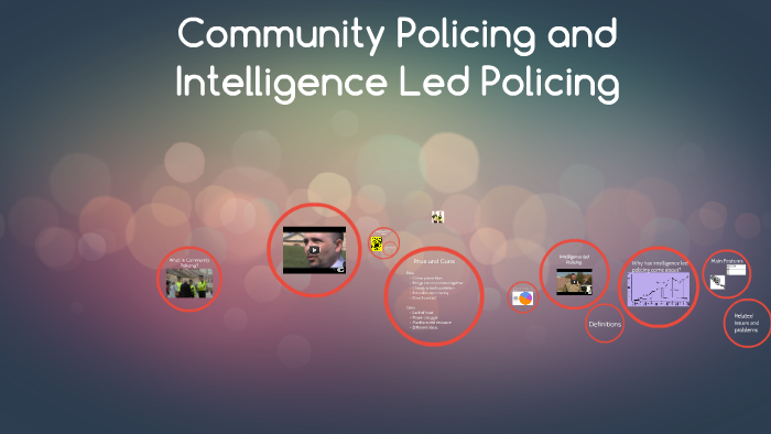 Community Policing and Intelligence Led Policing by Holly