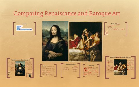 similarities between renaissance and baroque art