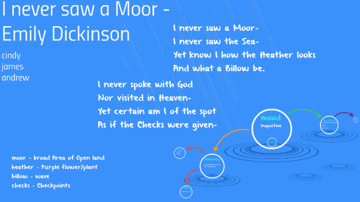 i never saw a moor emily dickinson