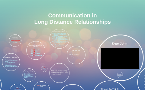Communication in Long Distance Relationships by Elle Chang on Prezi