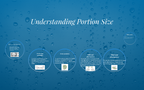 Understanding Portion Size by Victoria Nasr on Prezi