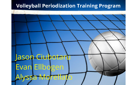 Volleyball Periodization Training Program by Alyssa