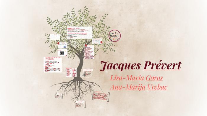 Jacques Prévert By Ana Marija Vreabc On Prezi