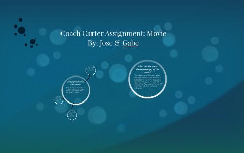 coach carter assignment