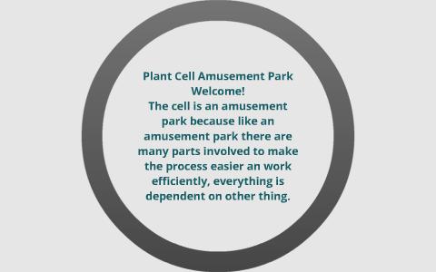 Plant Cell Amusement Park By Taylor Evonitz On Prezi
