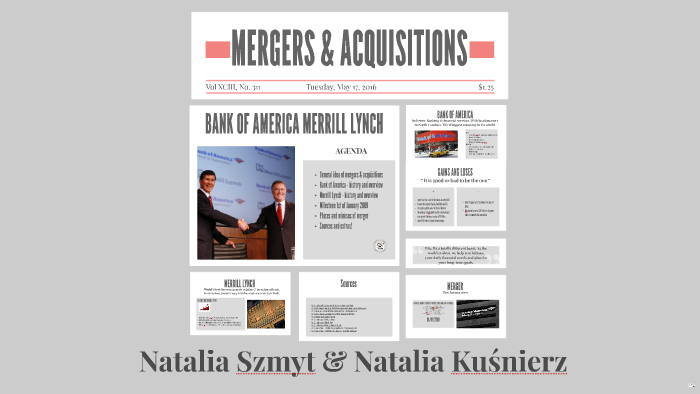 bank of america merrill lynch acquisition