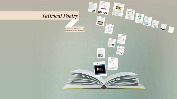 Satirical Poetry By Alex Simone On Prezi
