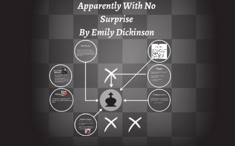 emily dickinson apparently with no surprise analysis