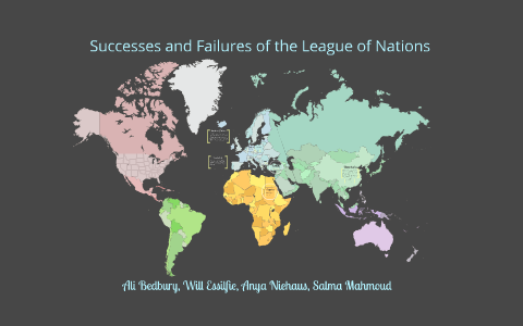 success and failure of league of nations