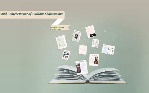 william shakespeare greatest achievements
