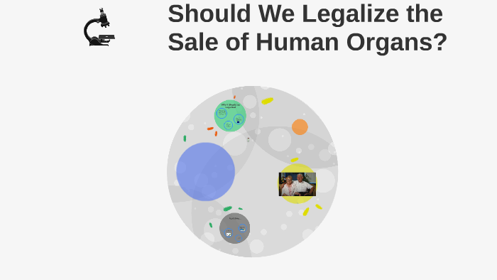 sale of human organs should not be legalized