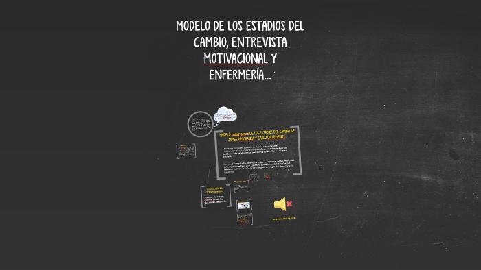 Modelo De Los Estadios Del Cambio Entrevista Motivacional Y