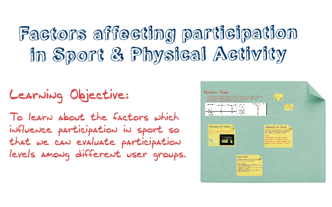 factors affecting participation in sport