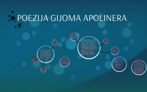 POEZIJA GIJOMA APOLINERA by Andrea Beata Bicok on Prezi