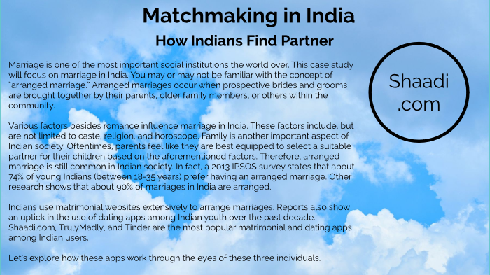 Matchmaking in India by Emeritus  Org on Prezi Next