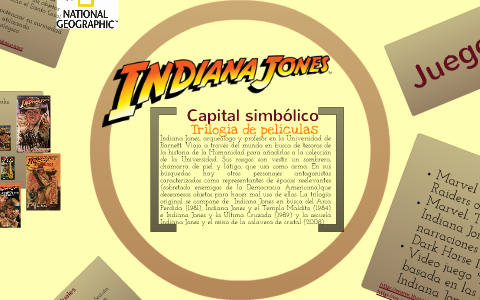 Indiana Jones By Lucila Cantú On Prezi