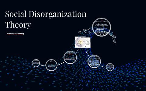 social disorganisation theory of crime