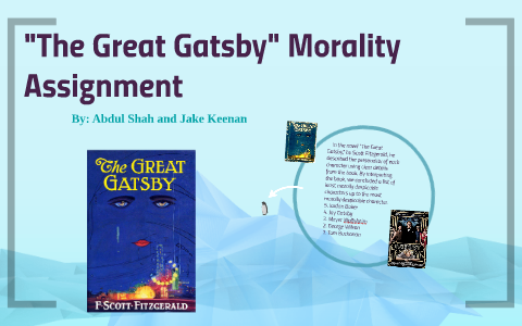 great gatsby sparknotes