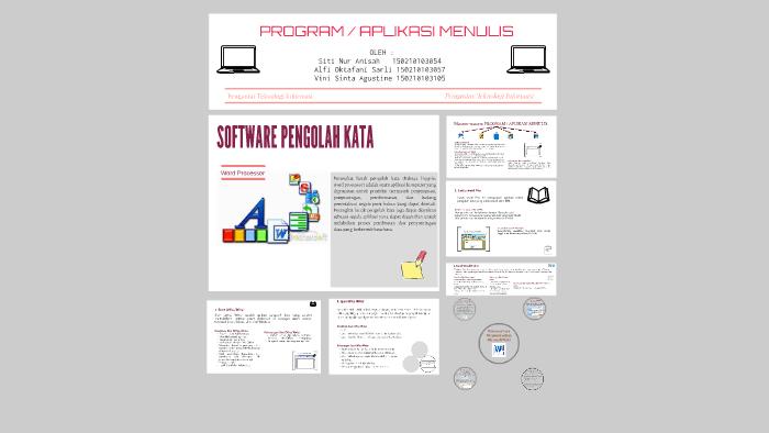 Program Aplikasi Menulis By Alfi Okta On Prezi