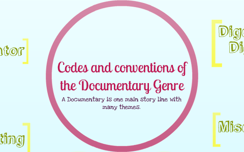 conventions of a documentary