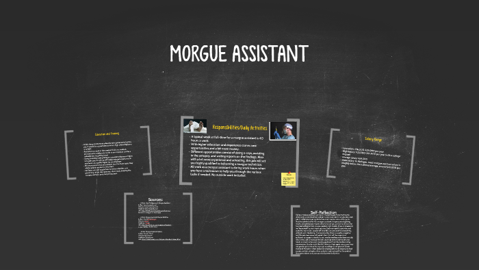 what is a morgue assistant